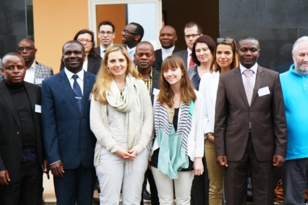 The working group and the team of Kyeshero hospital