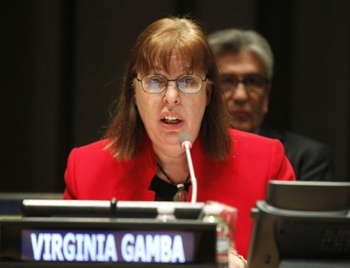 Virginia Gamba – 4th Special Representative of the Secretary-General for Children and Armed Conflict