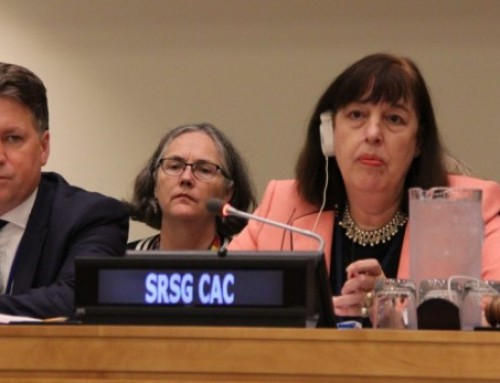 Presentation of CAAC Annual Report to the UN General Assembly