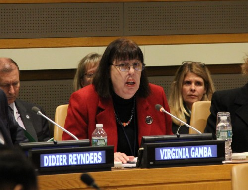 Release and Reintegration of Children Associated with Armed Forces and Armed Groups: Remarks by SRSG Gamba