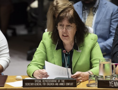 Statement by Virginia Gamba: Open Debate on Children and Armed Conflict