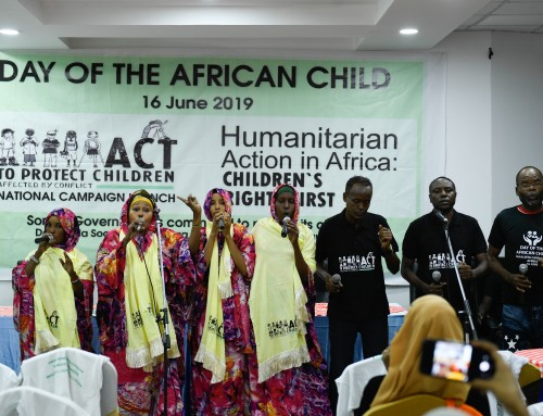 Federal Government of Somalia Vows to Strengthen Child Protection Legislation