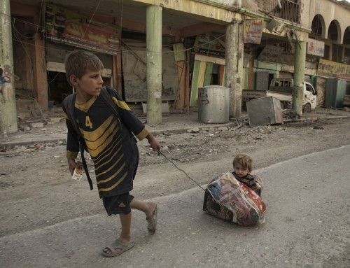 Children of Iraq Dramatically Impacted by ISIL's Extreme Violence and Counter-Military Operations